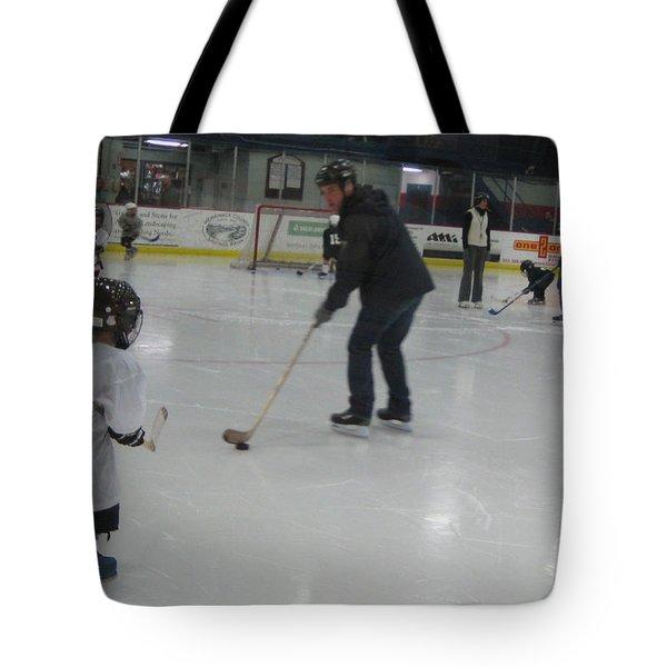 Future Hockey Players Tote Bag