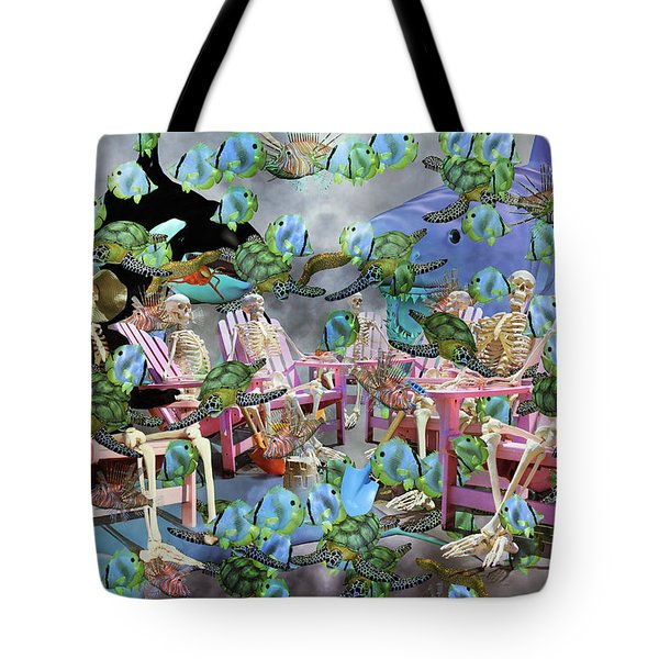 Future Of The Sea Committee  Tote Bag by Betsy Knapp