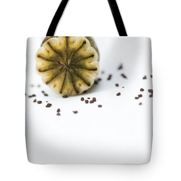 Future Poppies Tote Bag by Anne Gilbert