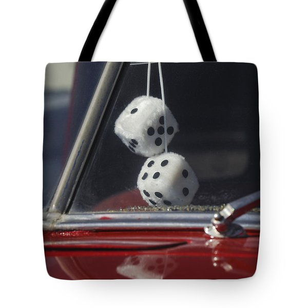 Fuzzy Dice 2 Tote Bag by Jill Reger