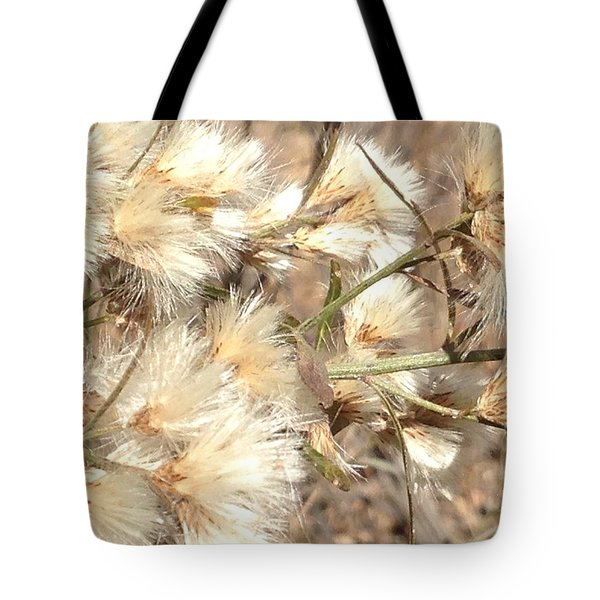Fuzzy Tote Bag by Erika Chamberlin