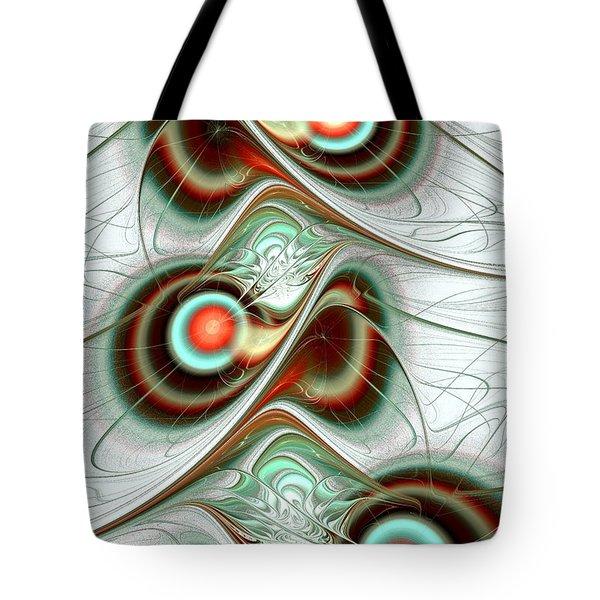 Fuzzy Feelings Tote Bag by Anastasiya Malakhova