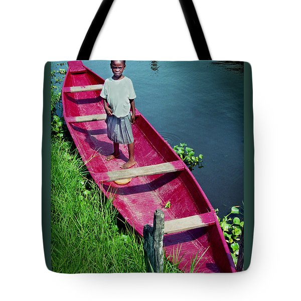 Dad's Canoe Tote Bag