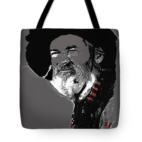 Gabby Hayes #3 Tote Bag by David Lee Guss