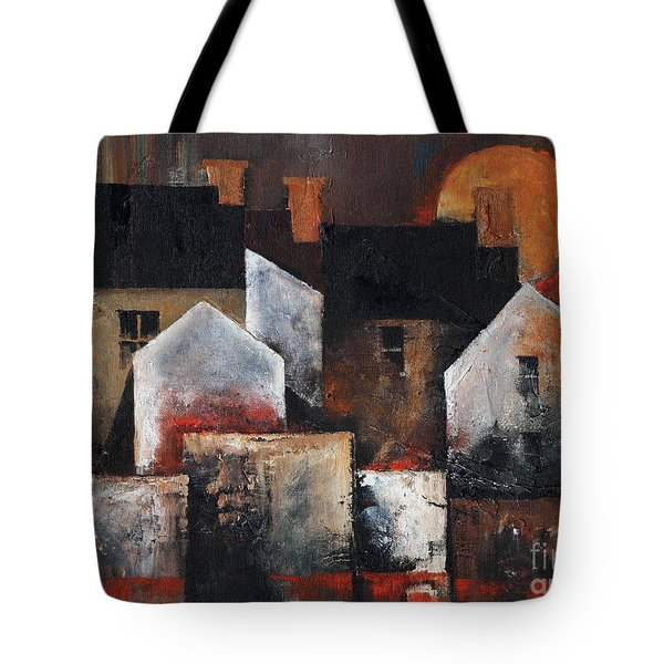 Gables Sunset Tote Bag