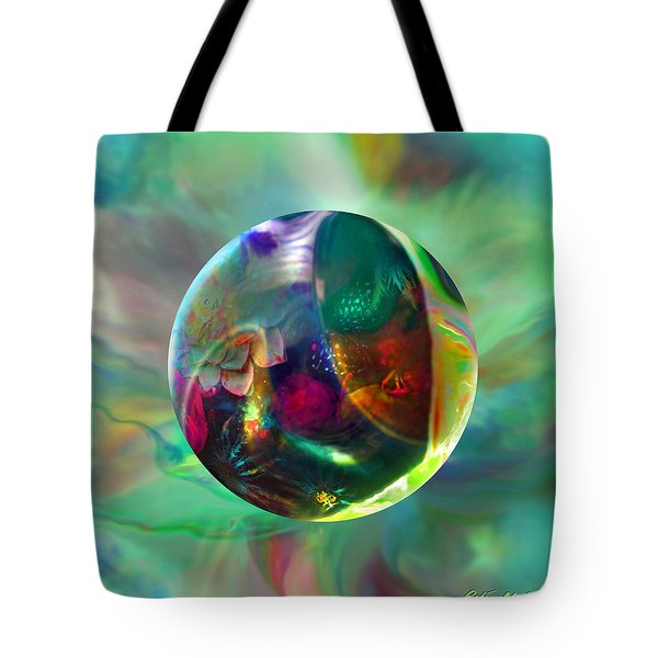 Tote Bag featuring the painting Gaelic Earth by Robin Moline