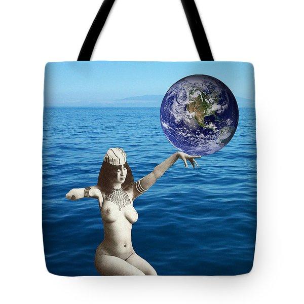 Gaia Tote Bag by Matthew Lacey