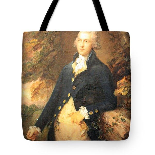 Gainsborough's Francis Bassat -- Lord De Dunstanville Tote Bag