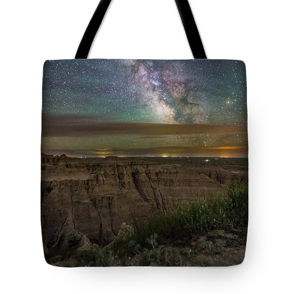 Galactic Pinnacles Tote Bag