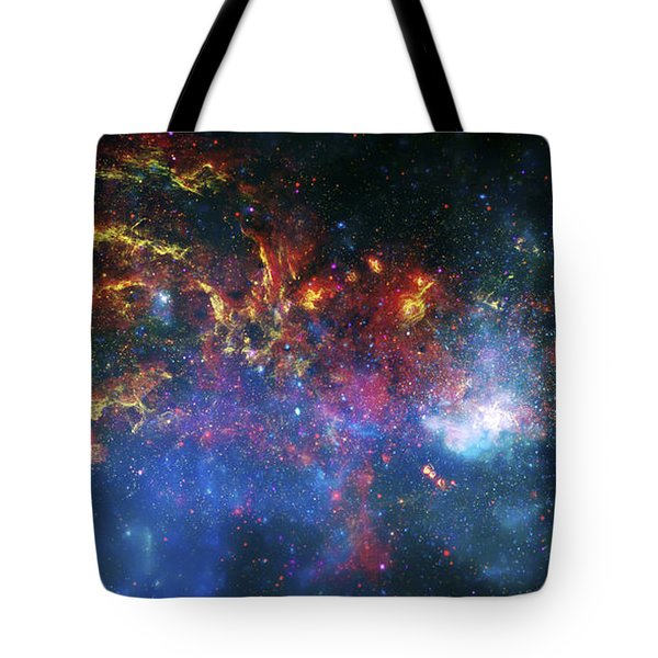 Galactic Storm Tote Bag by Jennifer Rondinelli Reilly - Fine Art Photography