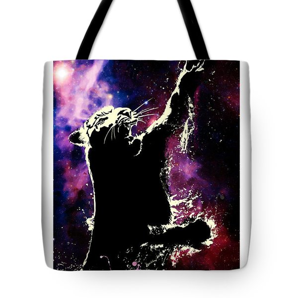 Galactic Tiger Tote Bag