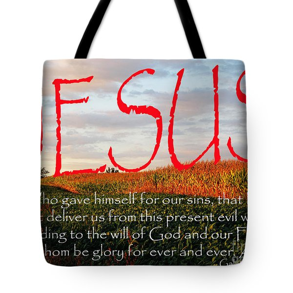 Galatians 1 Four To Five Tote Bag