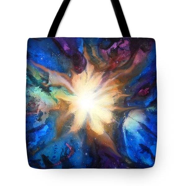 Flor Boreal Tote Bag by Angel Ortiz