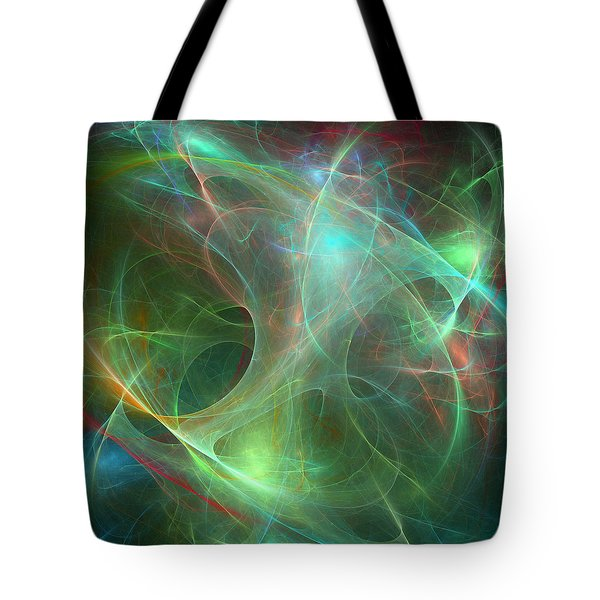 Galaxie Fractale -02 Tote Bag by RochVanh