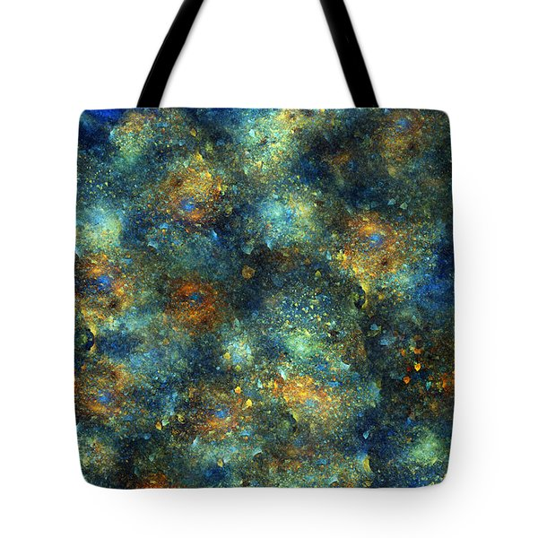 Galaxies  Tote Bag by Betsy C Knapp