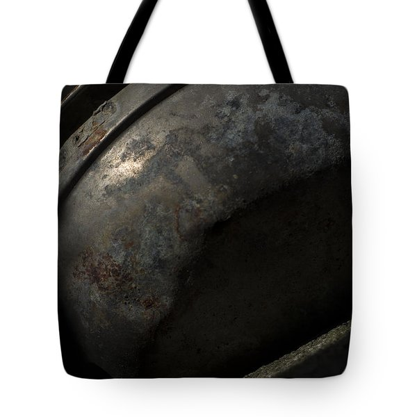 Tote Bag featuring the photograph Galaxy In A Galvanized Pan by Rebecca Sherman