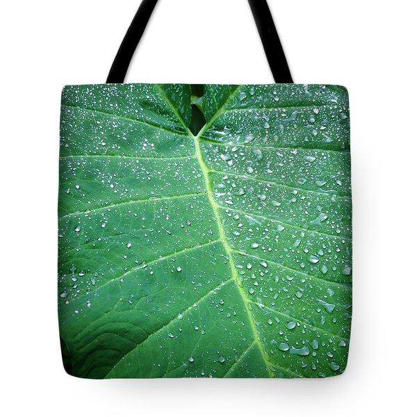 Galaxy Rain Tote Bag