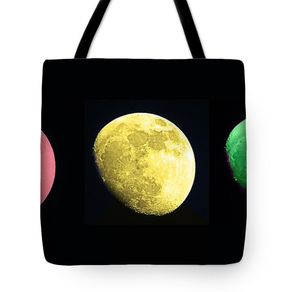 Galaxy Stop Light Tote Bag by Tom Gari Gallery-Three-Photography