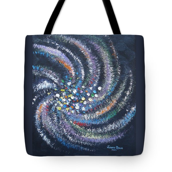 Galaxy Swirl Tote Bag