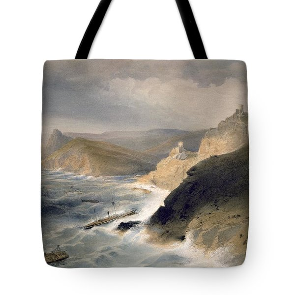 Gale Off The Port Of Balaklava Tote Bag
