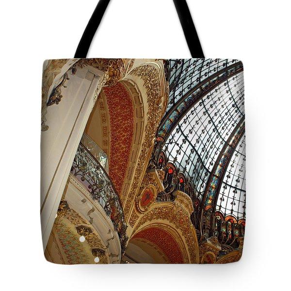 Galeries Lafayette Tote Bag by Kathy Yates