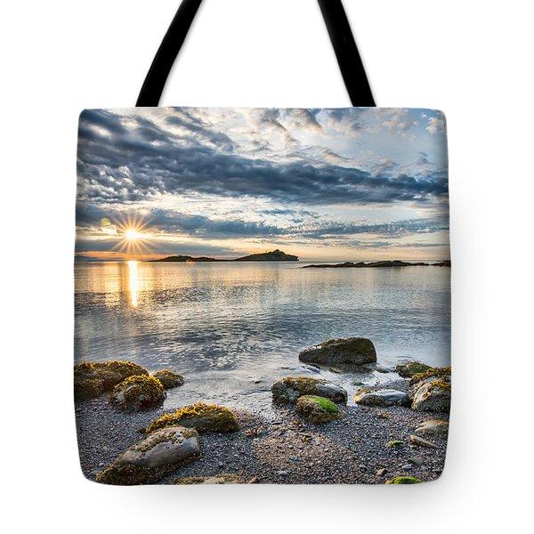 Galiano Sun Star Tote Bag