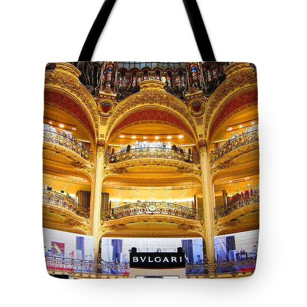 Galleries Laffayette  Tote Bag