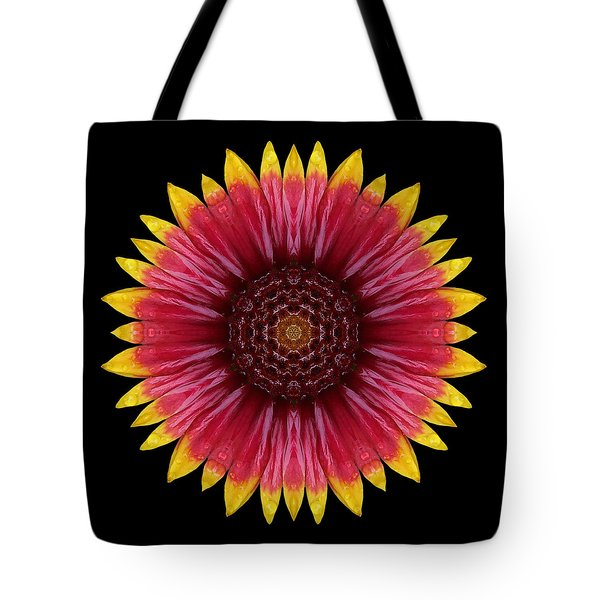 Galliardia Arizona Sun Flower Mandala Tote Bag