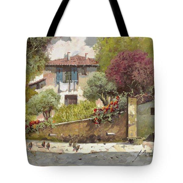 Galline Tote Bag by Guido Borelli