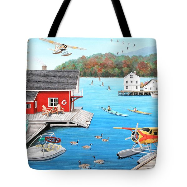 Galloping Goose Lake Tote Bag