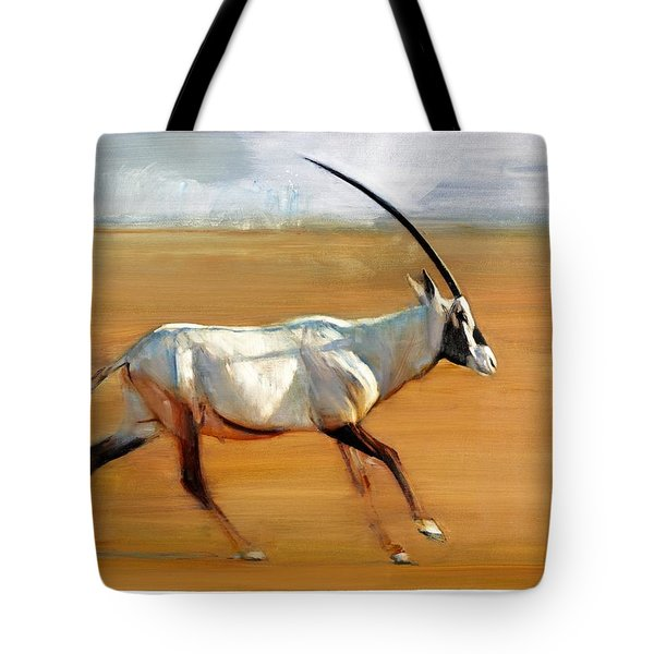 Galloping Orynx Tote Bag