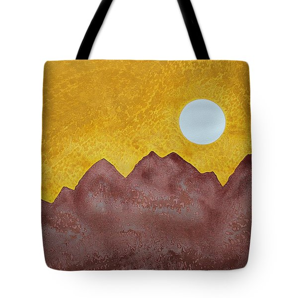 Gallup Original Painting Tote Bag