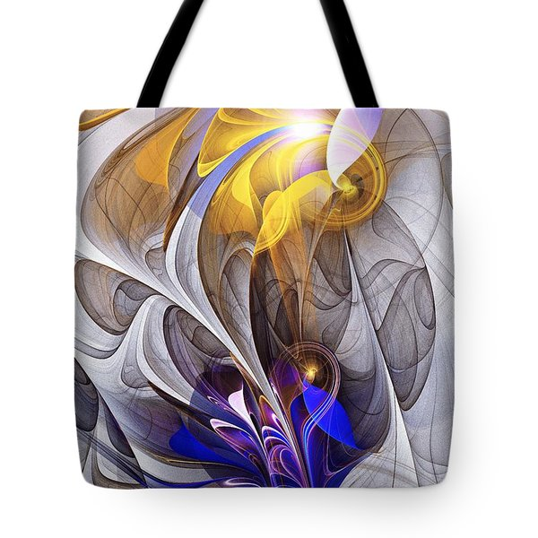 Galvanized Tote Bag