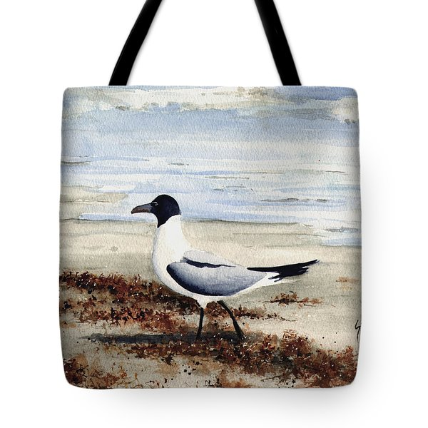 Galveston Gull Tote Bag