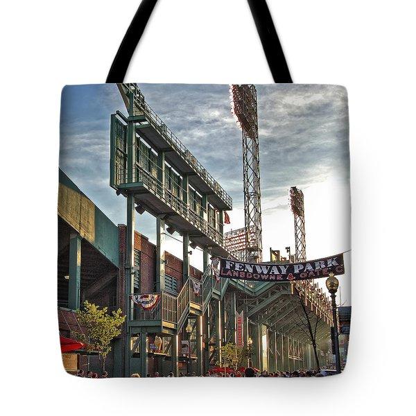 Game Day - Fenway Park Tote Bag by Joann Vitali