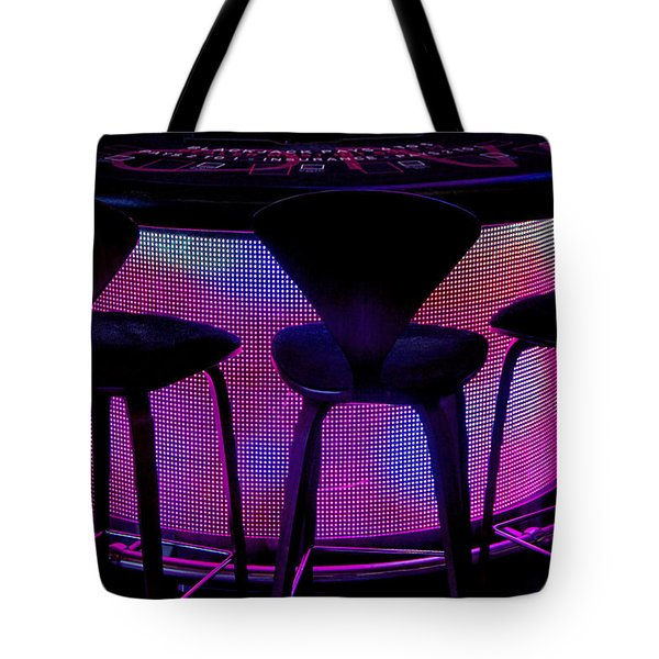 Game Table Tote Bag by Tammy Espino