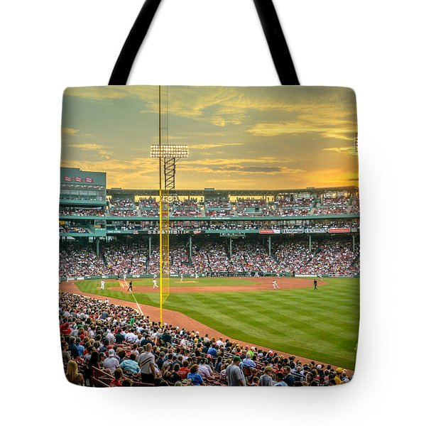 Fenway Park Tote Bag by Mike Ste Marie