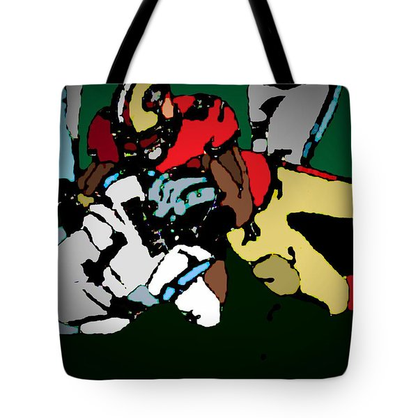 Game To Remember Tote Bag by Andrew Drozdowicz