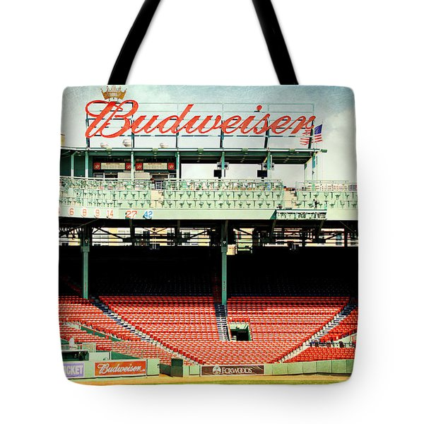 Gameday Ready At Fenway Tote Bag