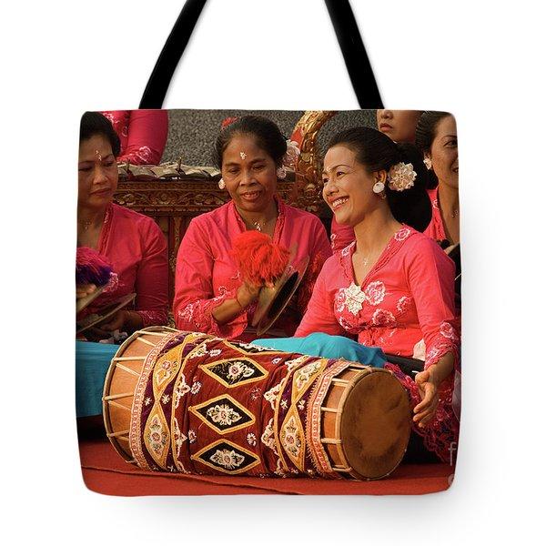 Gamelan 02 Tote Bag