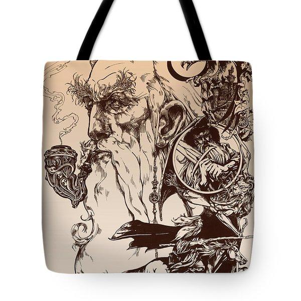 gandalf- Tolkien appreciation Tote Bag