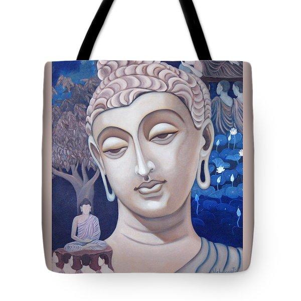 Gandhara Buddha Tote Bag by Vishwajyoti Mohrhoff