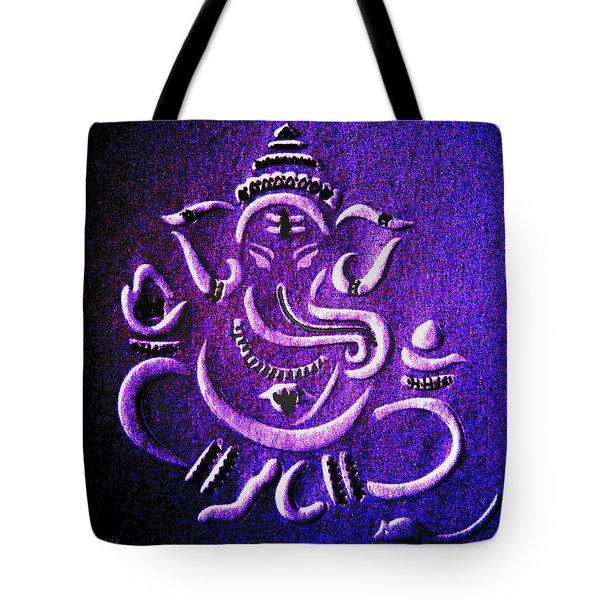Ganesha Ganpathi Tote Bag by Piety Dsilva