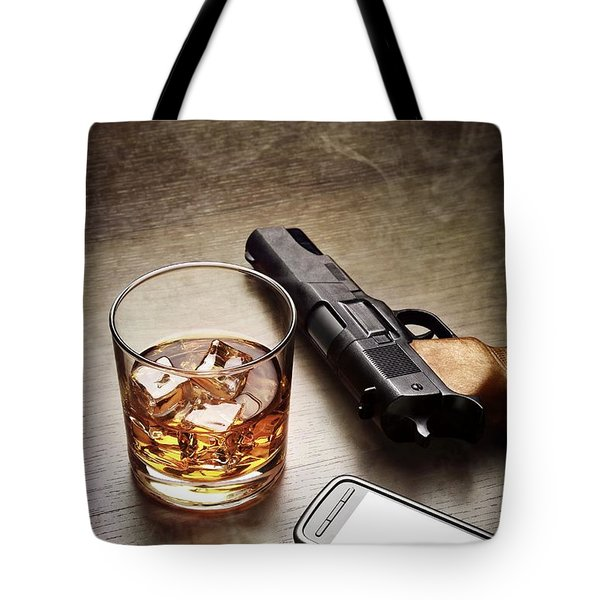 Gangster Gear Tote Bag by Carlos Caetano