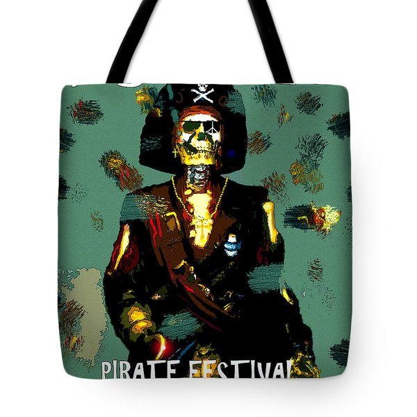Gasparilla Pirate Fest 2015 Full Work Tote Bag