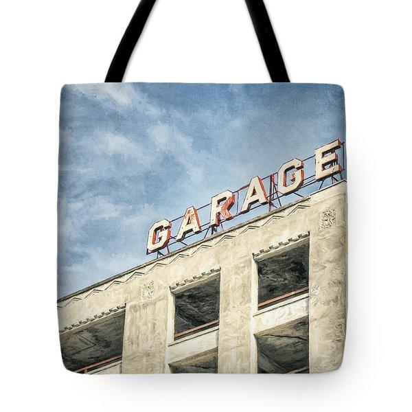 Garage Tote Bag by Scott Norris