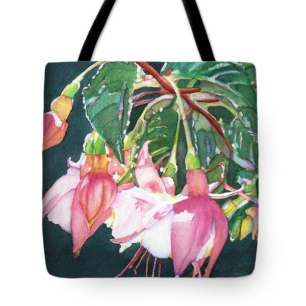 Garden Ballerinas Tote Bag