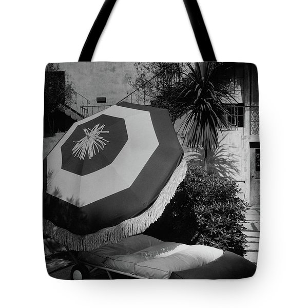 Garden Chaise Lounge Tote Bag