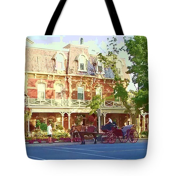 Garden City Tote Bag by Barbara McDevitt