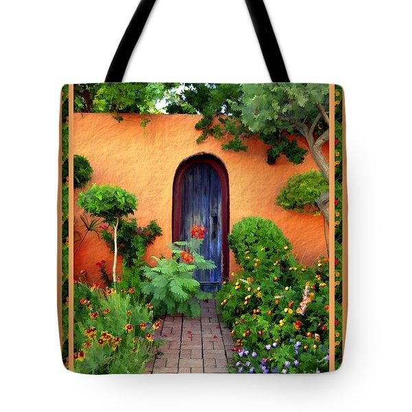 Garden Delights Mesilla Tote Bag by Kurt Van Wagner